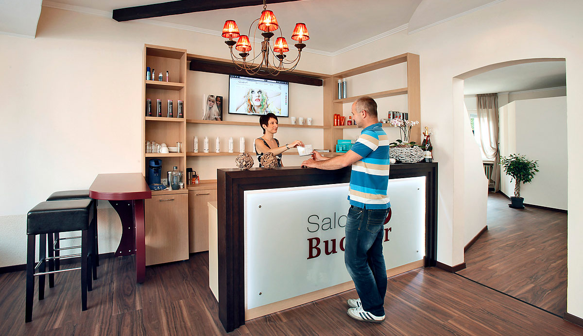 Salon-Buckler-Empfang